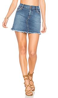 Обрезанная мини юбка mia - James Jeans