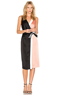 Taped wrap dress - Diane von Furstenberg