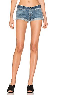 Короткие обрезанные шорты - NSF