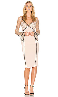 French lace bell sleeve dress - NICHOLAS