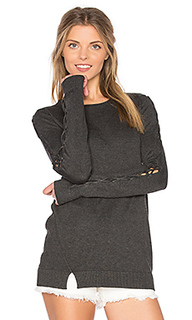 Cambridge lace up bell sleeve sweater - Central Park West