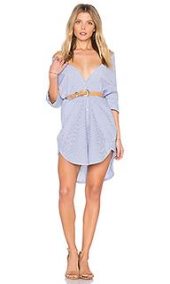 Длинное платье-рубашка clean summer - Maison Scotch