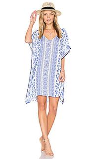 Платье в восточном стиле с v-образным вырезом - Shoshanna