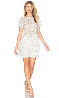 Мини-платье с цветочным рисунком - ANINE BING