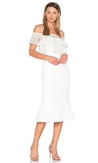 Farina flare midi dress - Rebecca Vallance