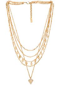 Moonstone multi charm necklace - Luv AJ
