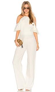 Harper linen jumpsuit - Karina Grimaldi