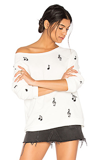 Пуловер noleta music notes - Lauren Moshi