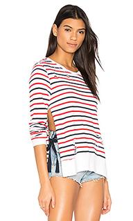 Stripe print fleece - Pam & Gela