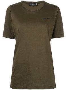 футболка с тиснением логотипа Dsquared2