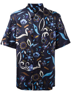 рубашка с цветочным узором Fendi