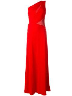 асимметричное длинное платье  Alberta Ferretti