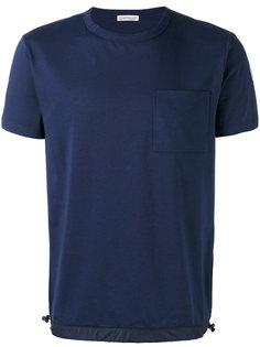 футболка с подолом на затяжках Moncler