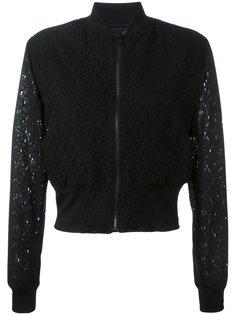 укороченная прозрачная куртка бомбер Ps By Paul Smith