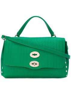 маленькая сумка-тоут с заклепками Zanellato