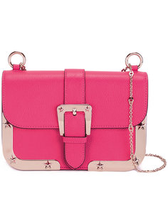 сумка на плечо с пряжкой Red Valentino
