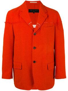 пиджак с необработанными краями Comme Des Garçons Vintage