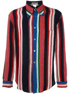 рубашка в полоску Yohji Yamamoto Vintage