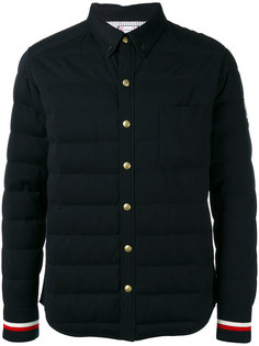 striped cuffs down jacket Moncler Gamme Bleu