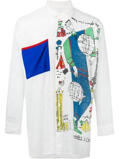 рубашка с нагрудным карманом Jc De Castelbajac Vintage