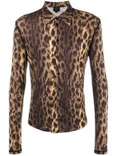 леопардовая рубашка Jean Paul Gaultier Vintage