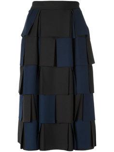 panelled neoprene skirt Gloria Coelho