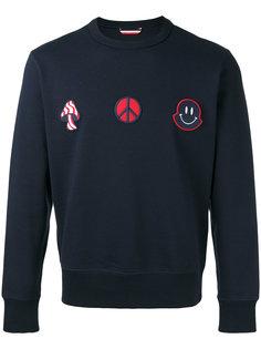 graphic print sweatshirt Moncler