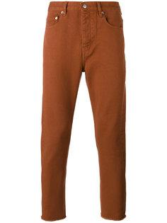 брюки с необработанными краями Golden Goose Deluxe Brand