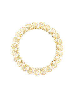 ожерелье с дизайном ракушек Nina Ricci Vintage