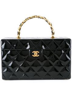 стеганая сумка-косметичка Chanel Vintage