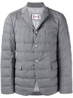 дутая куртка-блейзер Moncler Gamme Bleu