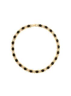 ожерелье с кристаллами Nina Ricci Vintage