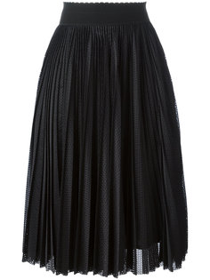 плиссированная юбка миди Givenchy