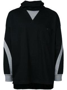 contrast hoodie  Factotum