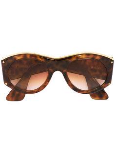 солнцезащитные очки в овальной оправе Christian Lacroix Vintage
