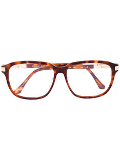 очки в прямоугольной оправе Yves Saint Laurent Vintage