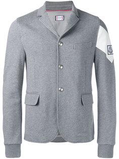 пиджак с контрастной отделкой Moncler Gamme Bleu
