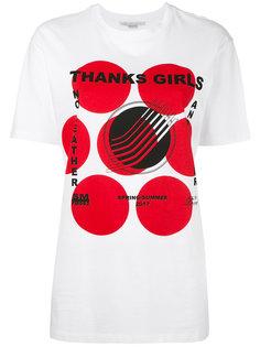 футболка с геометрическим принтом Stella McCartney
