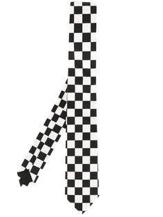 галстук в клетку Givenchy