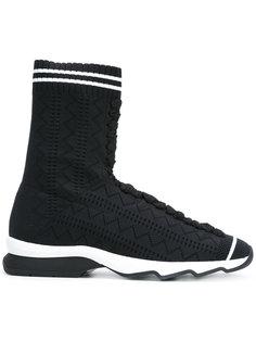 кроссовки-хайтопы Fendi