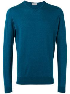 свитер с V-образным вырезом John Smedley