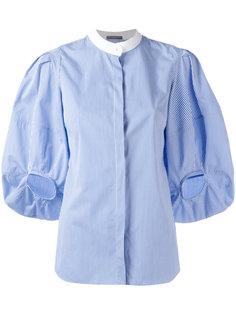 блузка с объемными рукавами Alexander McQueen