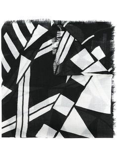 шарф с геометрическим узором Givenchy