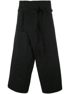 короткие брюки с запахом Isabel Benenato