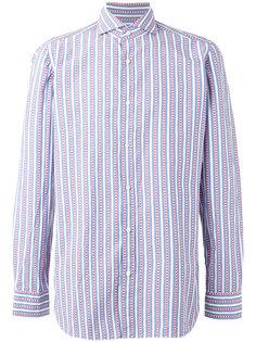 полосатая рубашка Borrelli