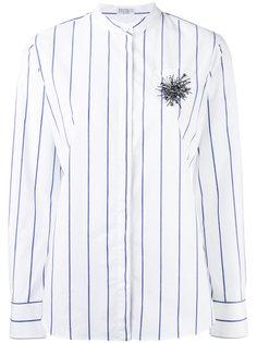 полосатая рубашка Brunello Cucinelli