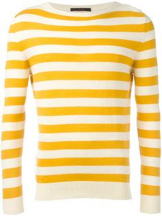 полосатый трикотажный свитер The Gigi