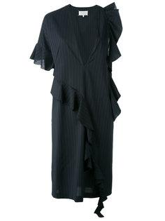 платье в тонкую полоску Maison Margiela