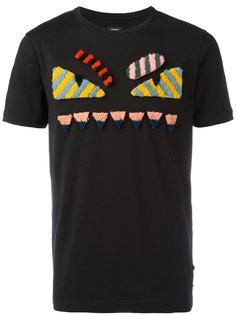 футболка с принтом Bags Bug Fendi