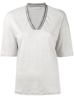 футболка с V-образным вырезом Fabiana Filippi